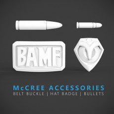 Overwatch - McCree Accessories