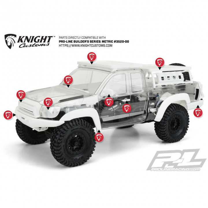 Pro-Line Metric Overland parts set
