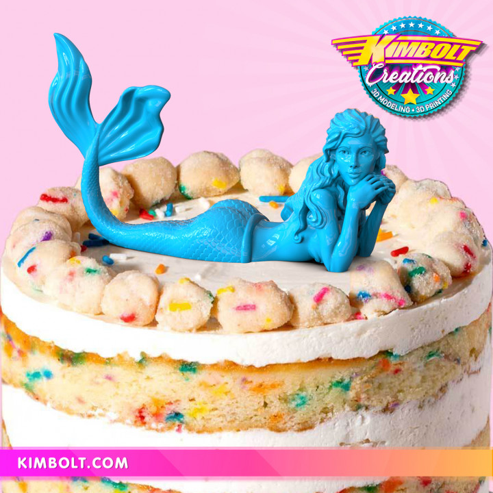 Mermaid - no supports!