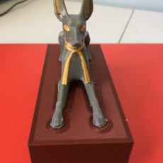 Picture of print of Anubis Shrine