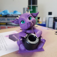Picture of print of BabyDragon - Pen holder