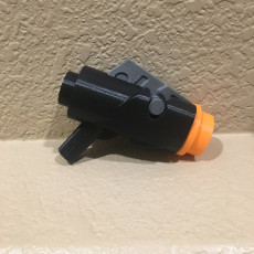 Picture of print of Human Scale BRICK Stud Launcher