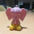 Cute Elephant Keychain image