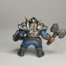Picture of print of Dwarven Defender - A Modular