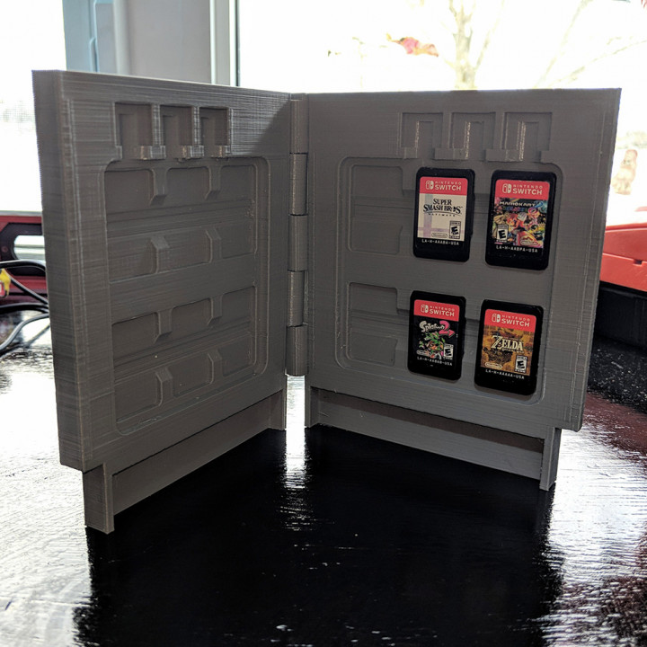 NES Switch Cartridge Case