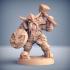 Dwarven Defender - B (Male) Modular image