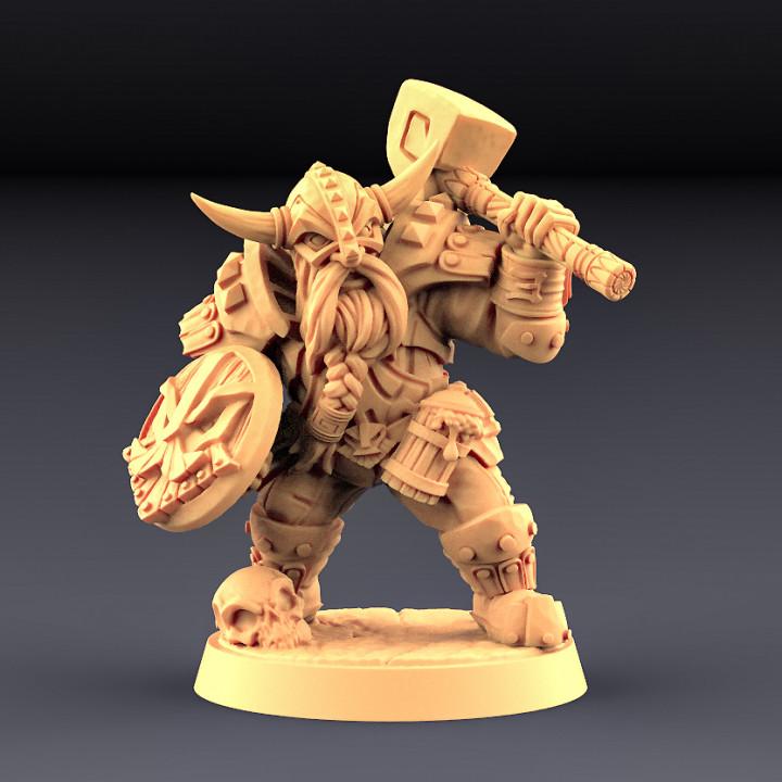 Dwarven Defender - B (Male) Modular