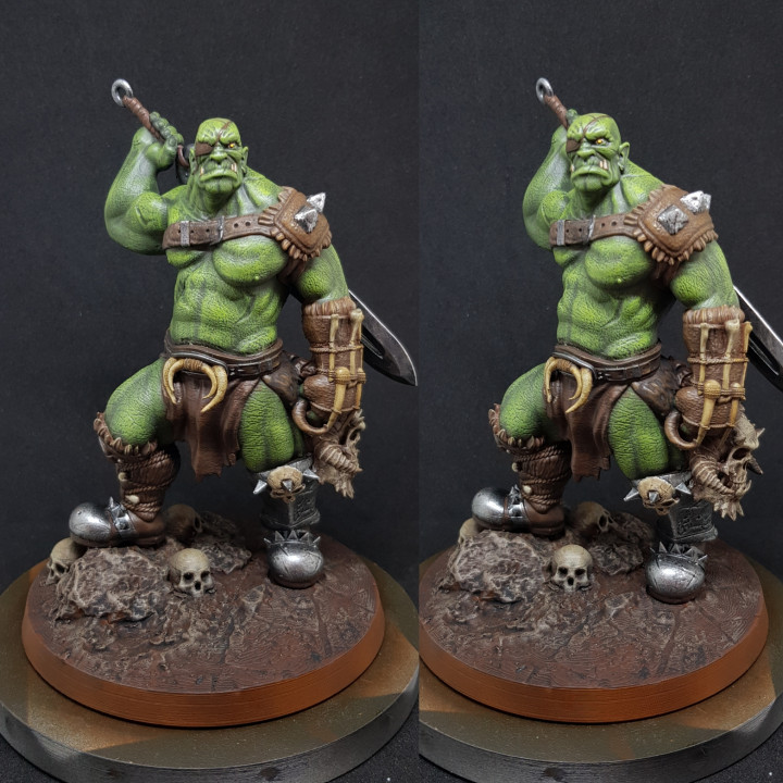 Savage Orc Warrior