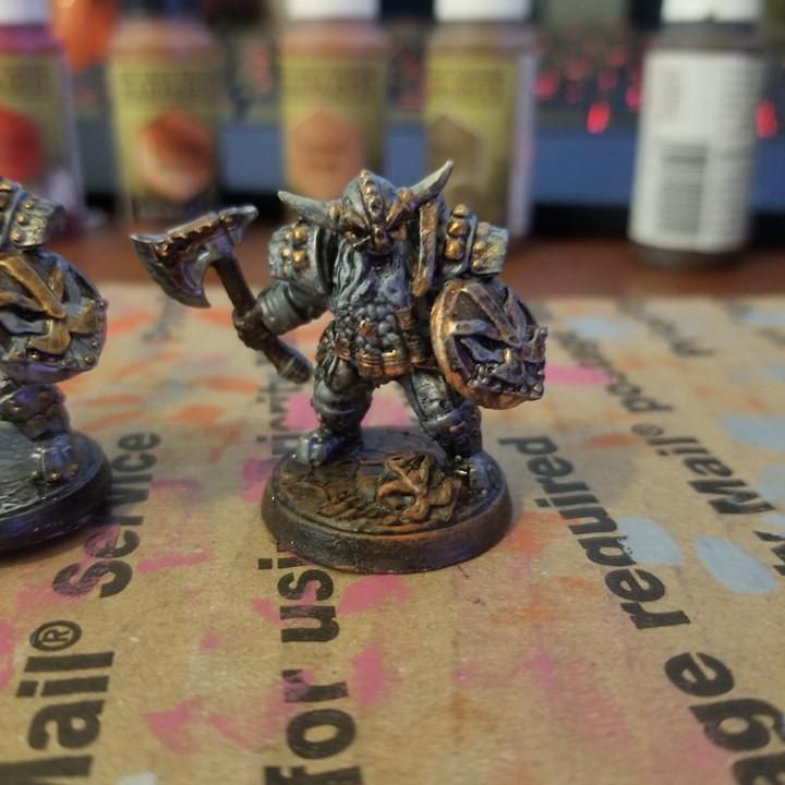Dwarven Defenders - 6 Modular Units