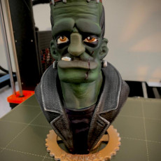 Picture of print of Frankie Bust