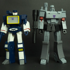Picture of print of G1 soundwave