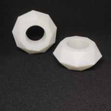 Picture of print of Geometric Napkin Ring