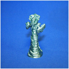 Picture of print of DnD miniature illithid mindflayer monster ver 2.0