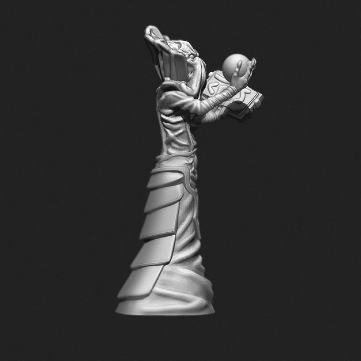 DnD miniature illithid mindflayer monster ver 2.0