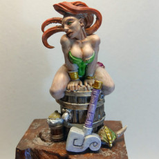 Picture of print of Runa - Dwarven Beauty (Fantasy Pin-up)