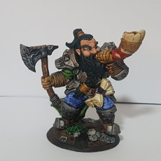 Picture of print of Flokir the Skald - Modular Dwarven Skald This print has been uploaded by Thurgeis