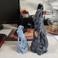 Picture of print of Enki the Capricorn (Single Material version)