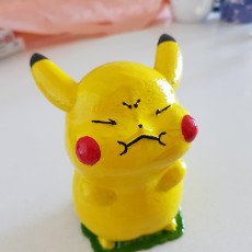 Picture of print of Pokémon  Pikachu