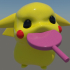 Pokemon Pikachu baby with candy_pokemon image