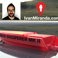 Remote controlled boat - Swan Whisperer MKII by Ivan Miranda