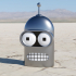 Bender Wall Piece (Mask) image