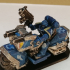 Space marine bike squad miniature image