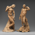 Standing Nude Male Figure (Michelangelo) image