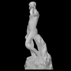 Standing Nude Male Figure (Phidias)