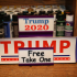 Bumper Sticker POS Display Rack With Swappable Inserts image