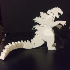 Picture of print of Flexi-Godzilla This print has been uploaded by Edward Holderbaum