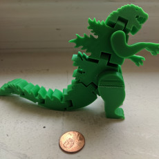 Picture of print of Flexi-Godzilla This print has been uploaded by Ellswor