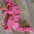 Flexi-Godzilla print image