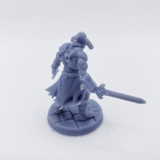 Picture of print of RPG Barbarian- Multipart with build options (32mm scale)