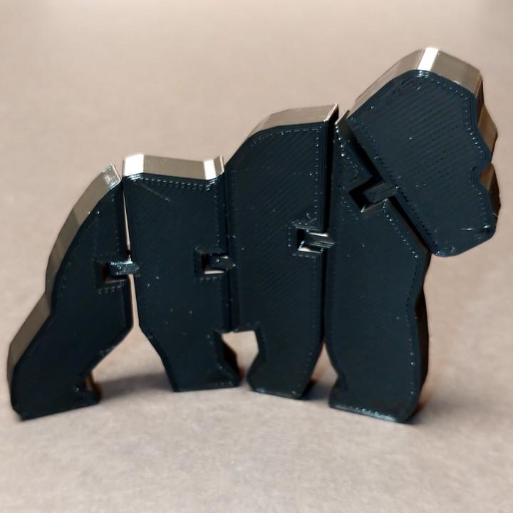 Flexi Articulated Gorilla