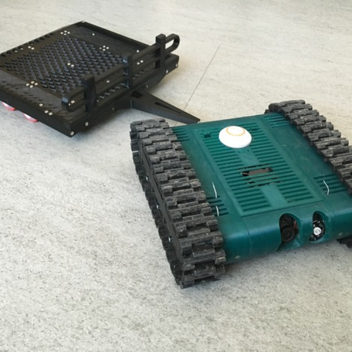 Trailer for the FPV-Rover