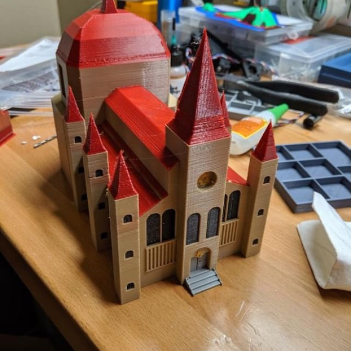 3D Printable Temple Of Time (exterior)