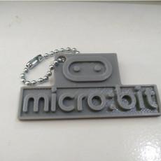 Micro:Bit Logo Simple Keychain