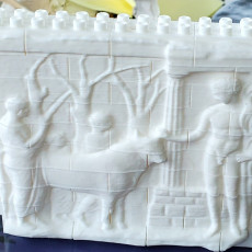 Picture of print of Votive relief