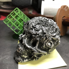 Picture of print of Fancy Skull 2 - HIGH RES - NO SUPPORTS Dieser Druck wurde hochgeladen von Brian Wright