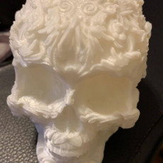 Picture of print of Fancy Skull 2 - HIGH RES - NO SUPPORTS