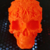 Fancy Skull 2 - HIGH RES - NO SUPPORTS print image