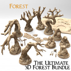 The ultimate 3d forest bundle for wargame