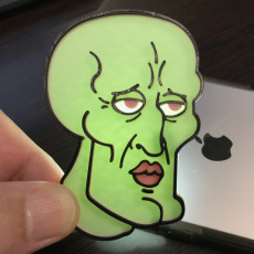 Picture of print of Handsome Squidward