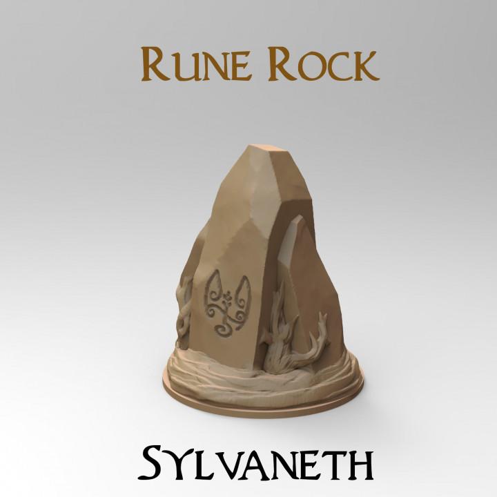 Rune Rock : Sylvaneth (32mm base)