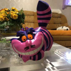 Picture of print of Cheshire Cat - MMU
