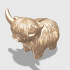 Highland Cow Piggy Bank image