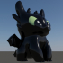 Toothless dragon_Night Fury image