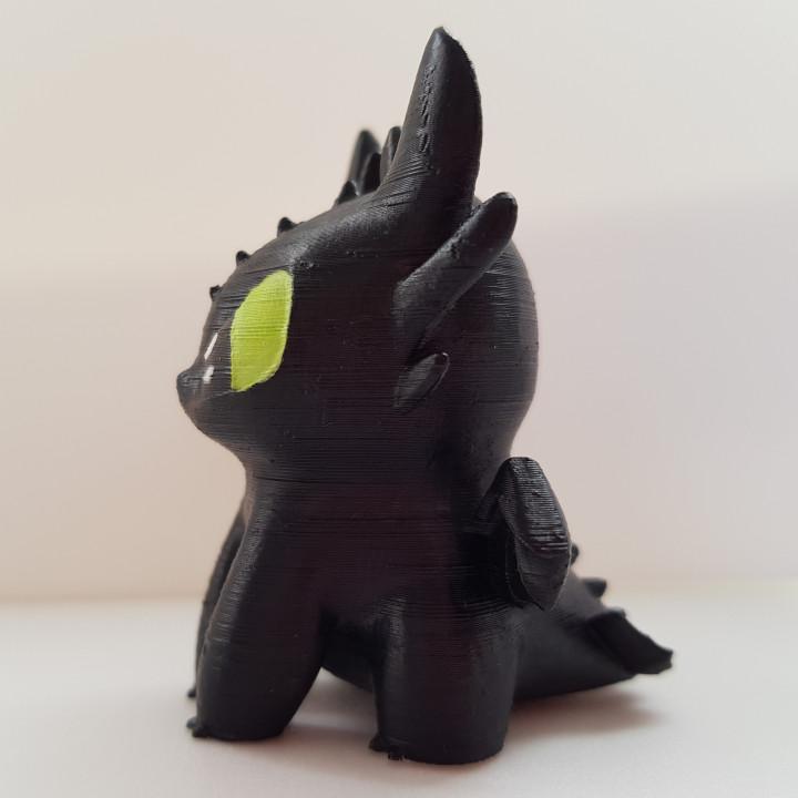 Toothless dragon_Night Fury