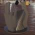 Spiral penholder-/Vase image