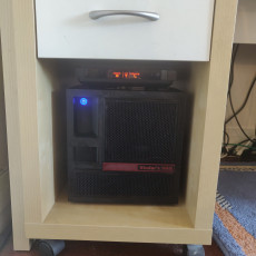 Picture of print of MK735 Mini Server / NAS Chassis